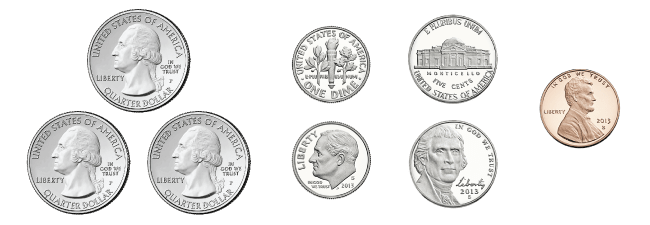Math Practice Counting Coins Usa