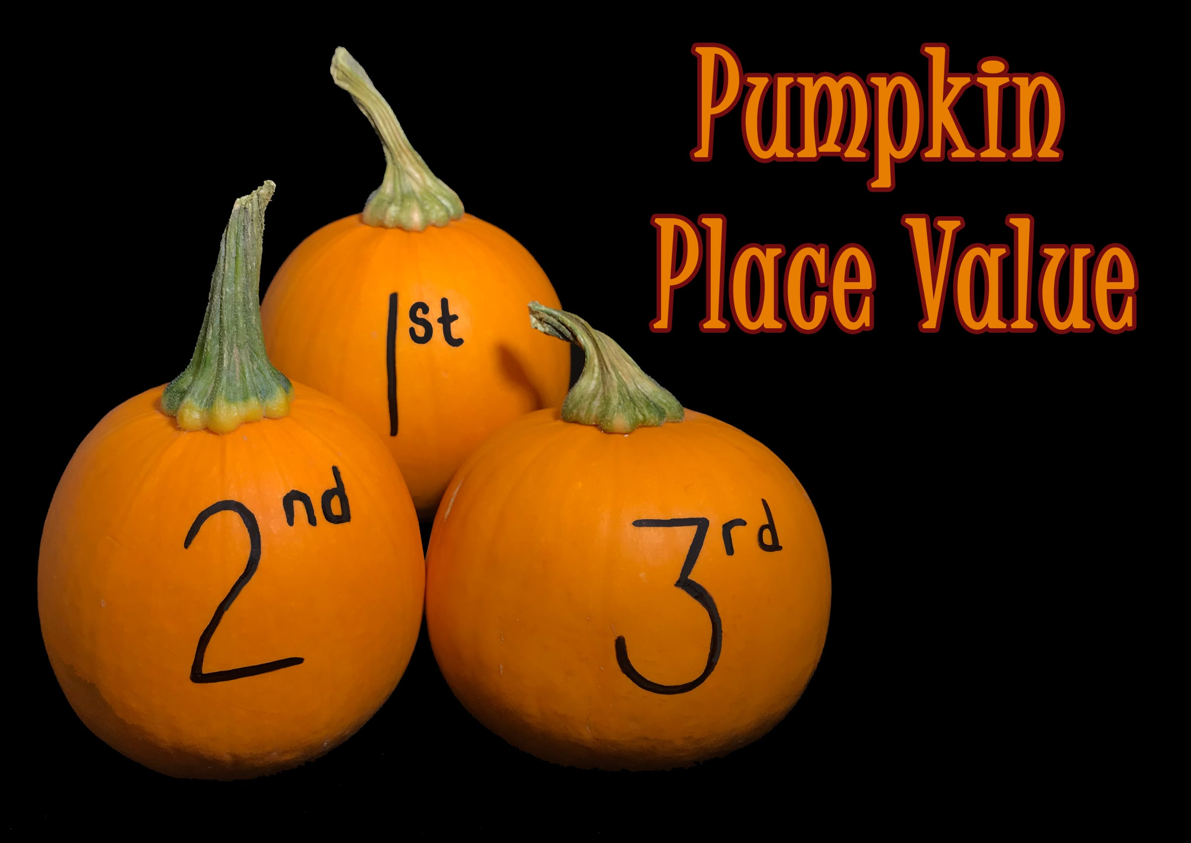 Pumpkin Place Value Activities