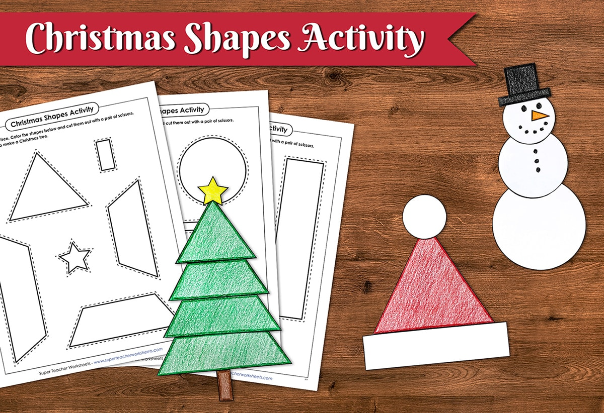 Christmas Shapes Activity