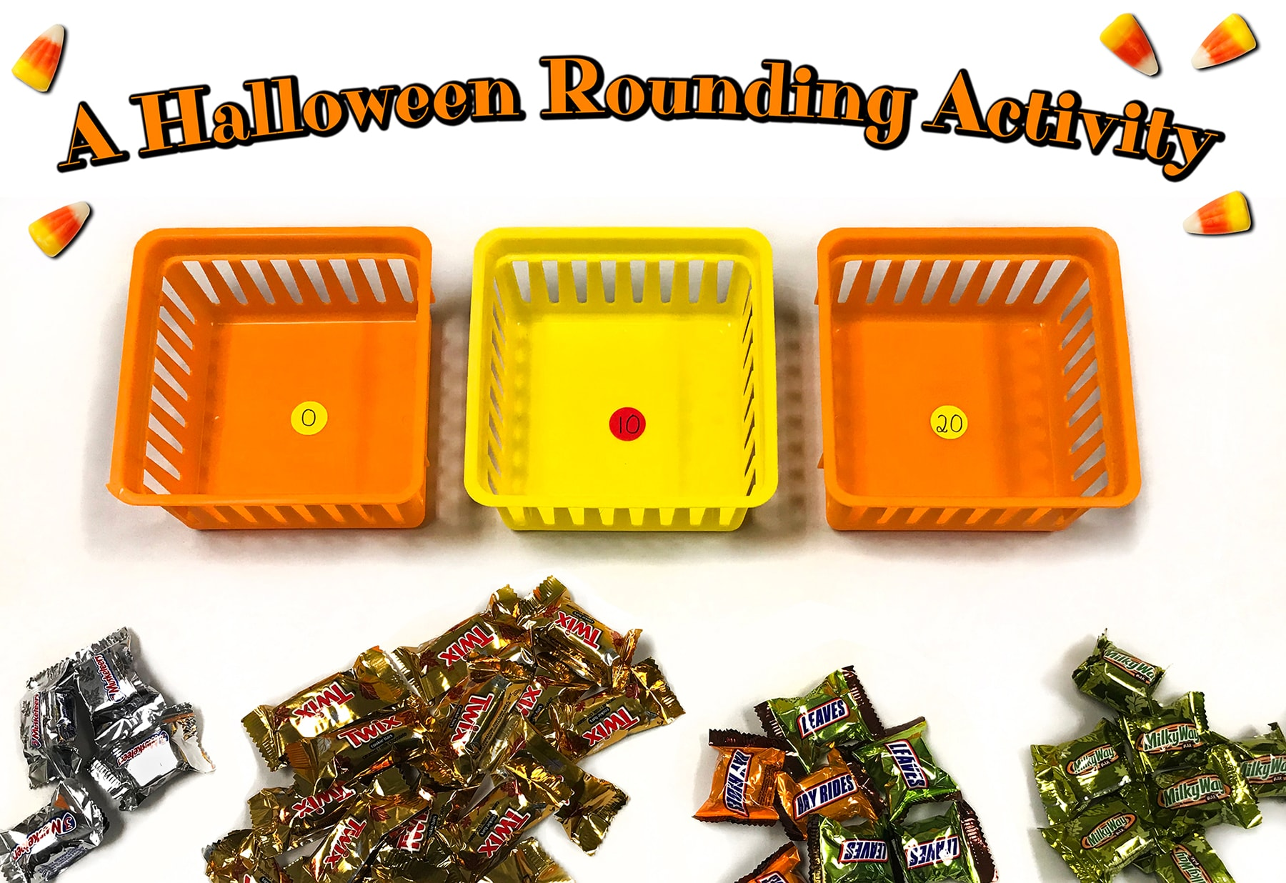 Halloween Candy Rounding Activity
