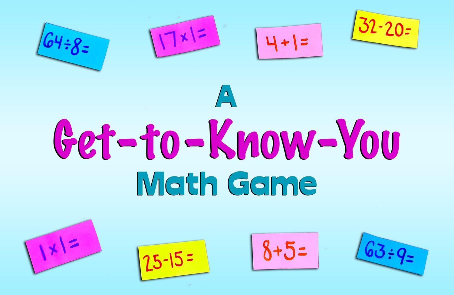 Icebreaker Math Activity