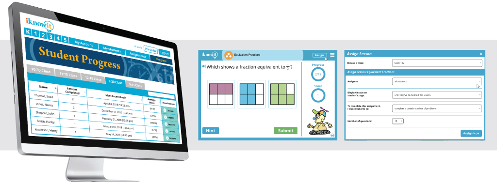 I Know It - Math Practice Site for Kids