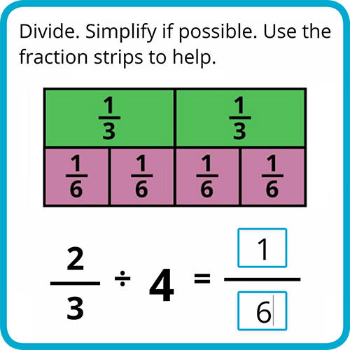 Try a Division Lesson!