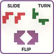 Flips, Slides, and Turns
