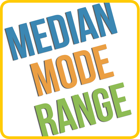 Mean, Median, Mode, Range Lessons