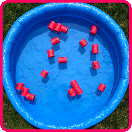 Play Pool Noodle Math Games!
