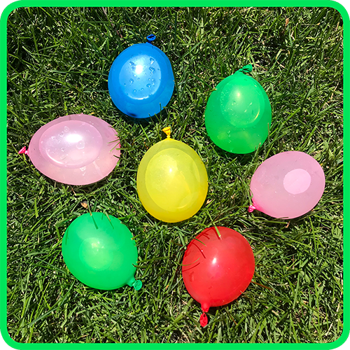 Play Water Balloon Math Games!