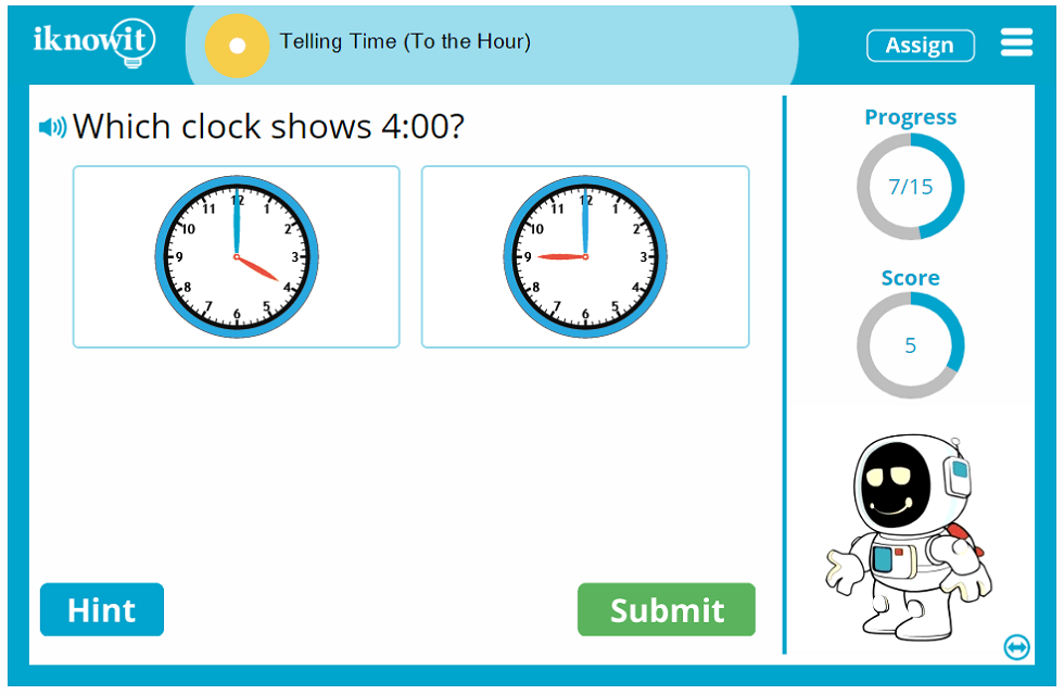 First Grade Reading Clocks Time Hourly Intervals Activity