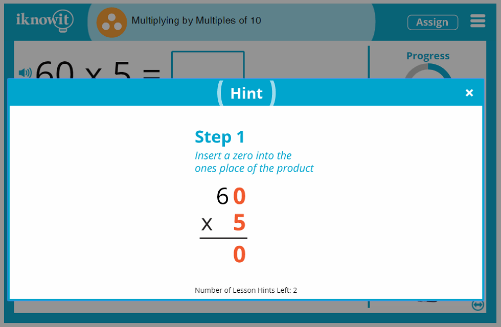 3rd Grade Multiplying by Multiples of 10 Lesson