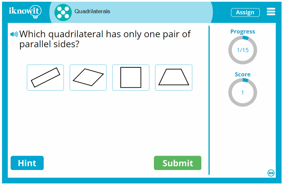 Fifth Grade Geometry Quadrilateral Four Sides and Corners Activity