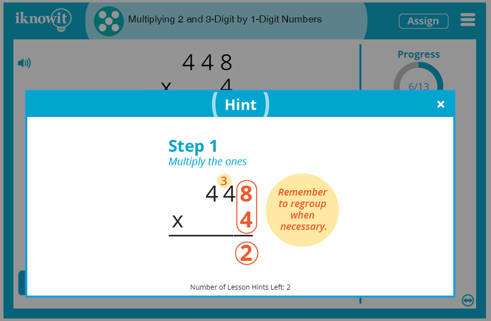 5th Grade Multiplying 2-and-3 Digit Numbers by 1 Digit Numbers 5th Grade Lesson